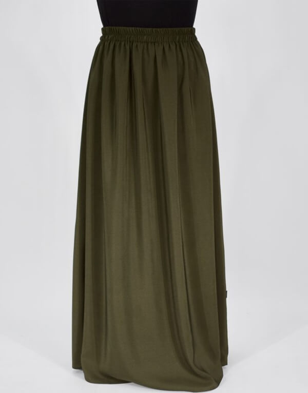 Medium Weight Fabric Maxi Skirt MAYA