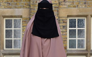 One Piece Niqab Standard Length